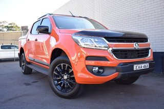 2018 Holden Colorado RG MY18 Z71 Pickup Crew Cab Orange 6 Speed Sports Automatic Utility.