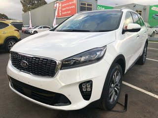 2019 Kia Sorento UM MY20 GT-Line AWD Clear White 8 Speed Sports Automatic Wagon.
