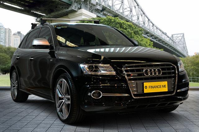 Used Audi SQ5 8R MY15 TDI Tiptronic Quattro, 2015 Audi SQ5 8R MY15 TDI Tiptronic Quattro Black 8 Speed Sports Automatic Wagon