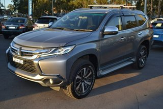 2015 Mitsubishi Pajero Sport QE MY16 GLX Grey 8 Speed Sports Automatic Wagon.