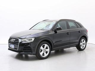 2015 Audi Q3 8U MY15 1.4 TFSI (110kW) Brilliant Black 6 Speed Automatic Wagon.