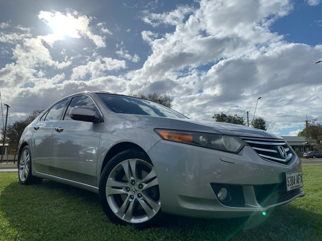 Used Honda Accord Euro CU MY10 Luxury Navi, 2010 Honda Accord Euro CU MY10 Luxury Navi Silver 5 Speed Automatic Sedan