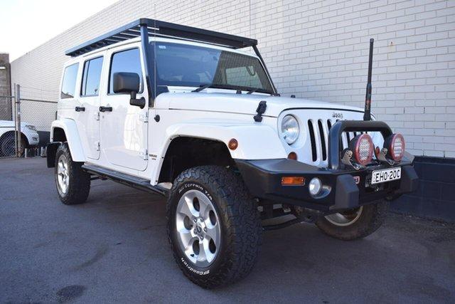 Used Jeep Wrangler JK MY2013 Overland, 2012 Jeep Wrangler JK MY2013 Overland White 5 Speed Automatic Hardtop