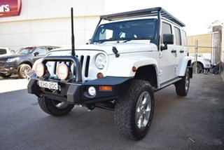 2012 Jeep Wrangler JK MY2013 Overland White 5 Speed Automatic Hardtop.