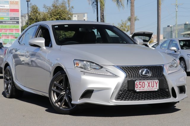 Used Lexus IS GSE20R MY13 IS250 F Sport, 2013 Lexus IS GSE20R MY13 IS250 F Sport Silver 6 Speed Sports Automatic Sedan