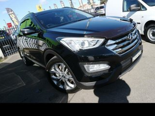2013 Hyundai Santa Fe DM Highlander CRDi (4x4) Black 6 Speed Automatic Wagon.