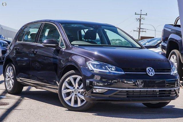 Demo Volkswagen Golf 7.5 MY20 110TSI DSG Highline, 2020 Volkswagen Golf 7.5 MY20 110TSI DSG Highline Black 7 Speed Sports Automatic Dual Clutch