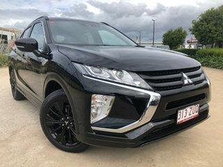 2019 Mitsubishi Eclipse Cross YA MY20 Black Edition 2WD Black 8 Speed Constant Variable Wagon.