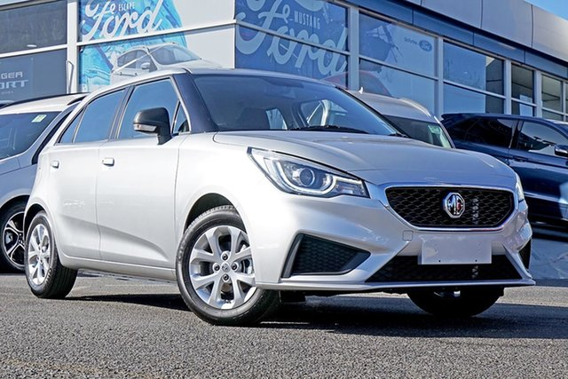 New MG MG3 SZP1 MY20 Core, 2020 MG MG3 SZP1 MY20 Core Silver 4 Speed Automatic Hatchback