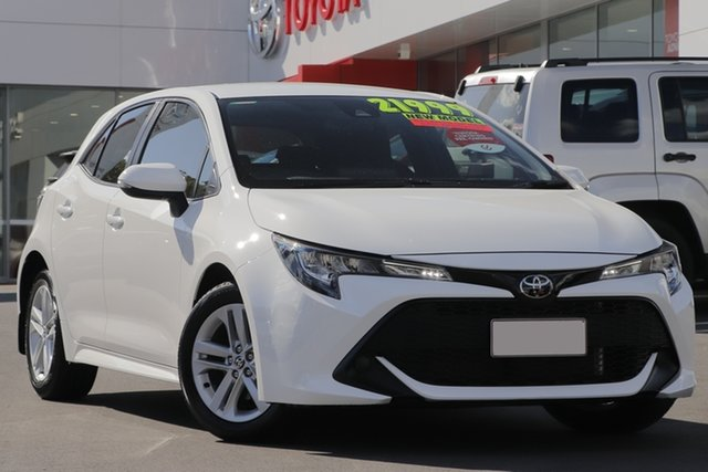 Used Toyota Corolla Mzea12R Ascent Sport, 2019 Toyota Corolla Mzea12R Ascent Sport White 10 Speed Constant Variable Hatchback