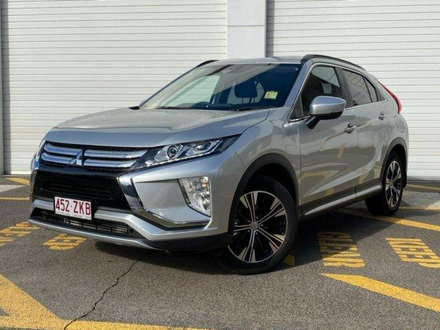Demo Mitsubishi Eclipse Cross YA MY19 LS 2WD, 2019 Mitsubishi Eclipse Cross YA MY19 LS 2WD Sterling Silver 8 Speed Wagon