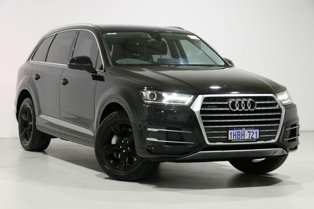 Demo Audi Q7 4M MY17 3.0 TDI Quattro (160kW), 2016 Audi Q7 4M MY17 3.0 TDI Quattro (160kW) Black 8 Speed Automatic Tiptronic Wagon