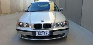 2004 BMW 3 Series E46/5 MY04 318ti Steptronic Silver 5 Speed Sports Automatic Hatchback.