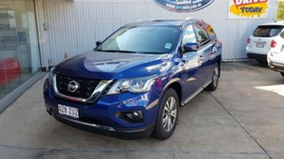 2019 Nissan Pathfinder R52 Series III MY19 ST-L X-tronic 2WD Caspian Blue 1 Speed Constant Variable.