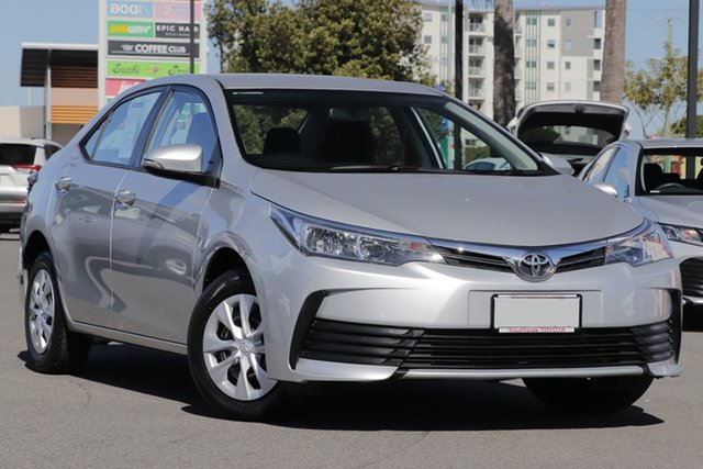 Used Toyota Corolla ZRE172R Ascent S-CVT, 2018 Toyota Corolla ZRE172R Ascent S-CVT Silver 7 Speed Sedan