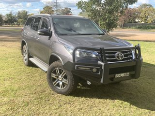 2016 Toyota Fortuner GUN156R GXL Magnetic Grey 6 Speed Automatic Wagon.