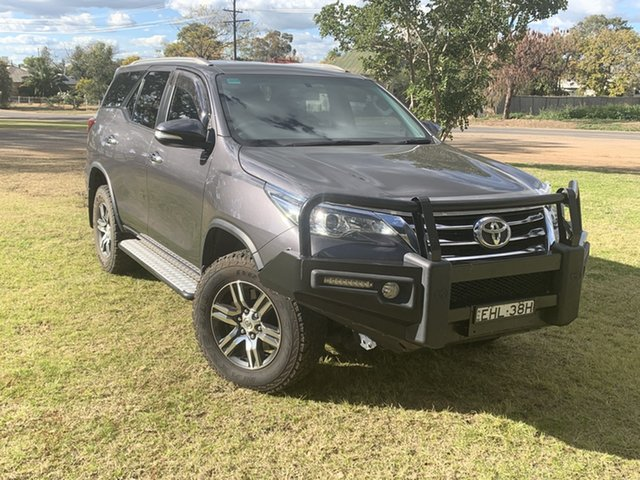 Used Toyota Fortuner GUN156R GXL, 2016 Toyota Fortuner GUN156R GXL Magnetic Grey 6 Speed Automatic Wagon