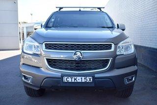 2014 Holden Colorado RG MY14 LTZ Crew Cab Grey 6 Speed Sports Automatic Utility.