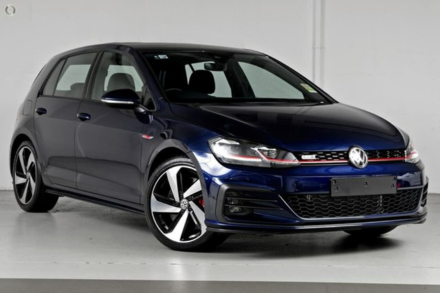 Demo Volkswagen Golf 7.5 MY20 GTI DSG Berwick, 2020 Volkswagen Golf 7.5 MY20 GTI DSG Blue 7 Speed Sports Automatic Dual Clutch Hatchback