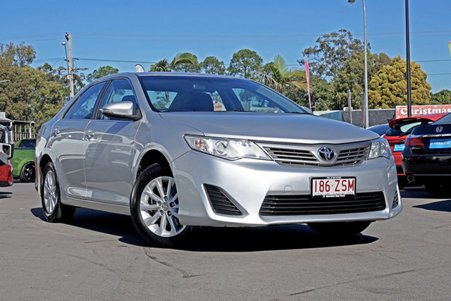 Used Toyota Camry ASV50R Altise, 2013 Toyota Camry ASV50R Altise Classic Silver 6 Speed Sports Automatic Sedan