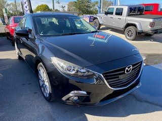 2014 Mazda 3 BM5236 SP25 SKYACTIV-MT Black 6 Speed Manual Sedan.