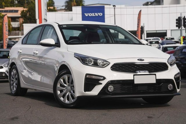 Used Kia Cerato BD MY19 S, 2019 Kia Cerato BD MY19 S White 6 Speed Sports Automatic Sedan