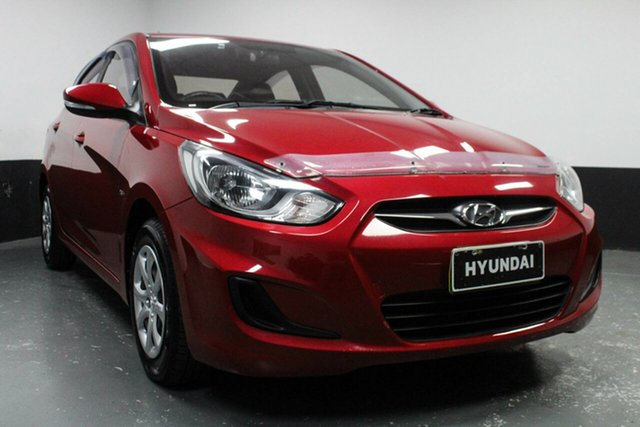 Used Hyundai Accent RB Active, 2012 Hyundai Accent RB Active 5 Speed Manual Sedan