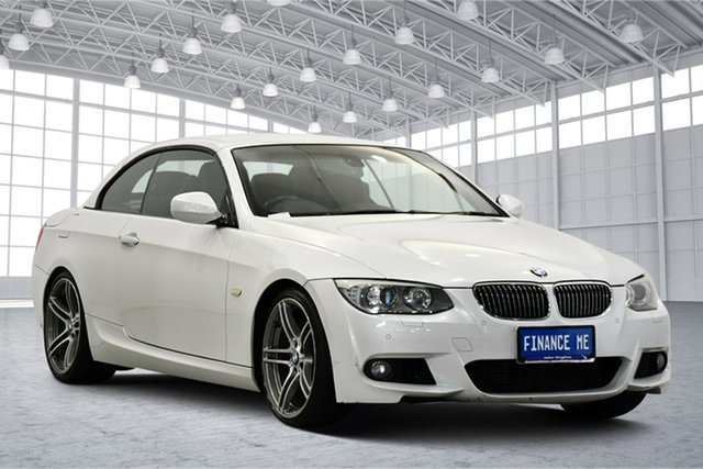 Used BMW 3 Series E93 MY11 335i D-CT M Sport, 2011 BMW 3 Series E93 MY11 335i D-CT M Sport White 7 Speed Sports Automatic Dual Clutch Convertible