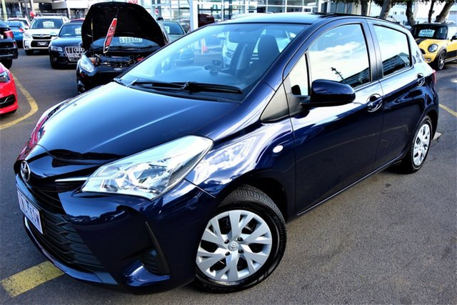 Used Toyota Yaris NCP130R Ascent, 2018 Toyota Yaris NCP130R Ascent Blue 5 Speed Manual Hatchback