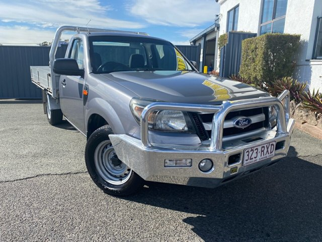 Used Ford Ranger PK XL 4x2, 2011 Ford Ranger PK XL 4x2 Grey 5 Speed Manual Cab Chassis