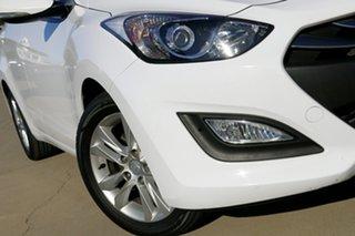 2014 Hyundai i30 GD MY14 Trophy White 6 Speed Manual Hatchback.