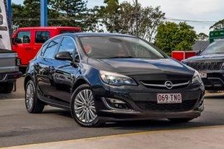 2012 Opel Astra AS Black 6 Speed Manual Hatchback.
