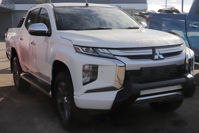 Demo Mitsubishi Triton MR MY19 GLS Double Cab Premium, 2019 Mitsubishi Triton MR MY19 GLS Double Cab Premium White 6 Speed Sports Automatic Utility
