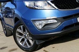 2014 Kia Sportage SL Series 2 MY14 SI (FWD) Blue 6 Speed Automatic Wagon.