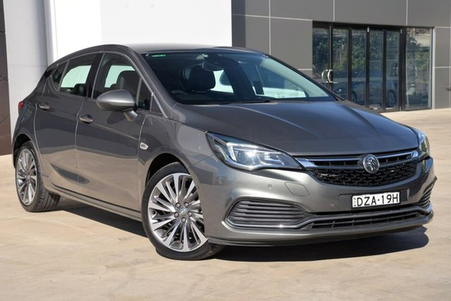 Used Holden Astra BK MY17 RS-V, 2017 Holden Astra BK MY17 RS-V Grey 6 Speed Sports Automatic Hatchback