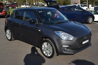 2017 Suzuki Swift AZ GL Navigator Grey 1 Speed Hatchback