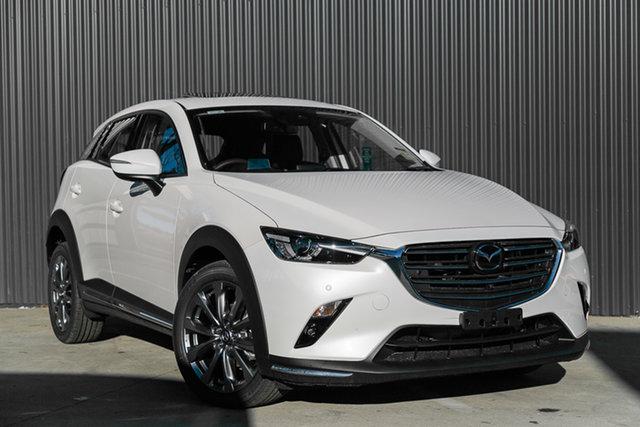 New Mazda CX-3 DK2W7A Akari SKYACTIV-Drive FWD LE, 2020 Mazda CX-3 DK2W7A Akari SKYACTIV-Drive FWD LE Snowflake White Pearl 6 Speed Sports Automatic