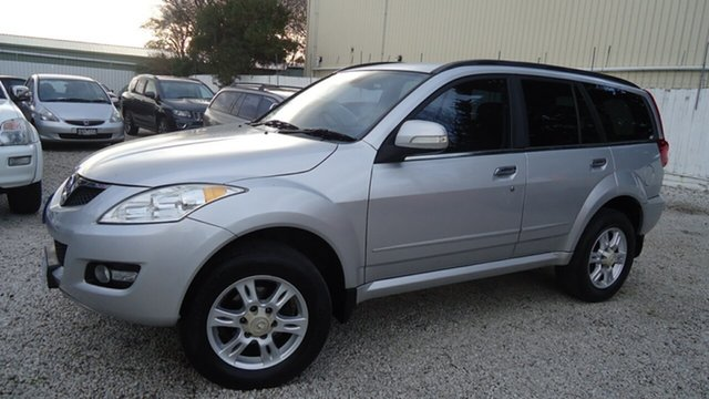 Used Great Wall X200 K2 MY12 , 2012 Great Wall X200 K2 MY12 Silver 5 Speed Automatic Wagon