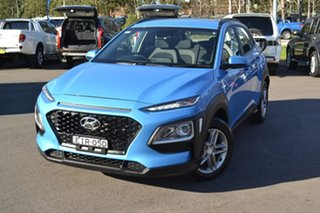 2019 Hyundai Kona OS.3 MY20 Active 2WD Blue 6 Speed Sports Automatic Wagon.