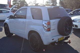 2013 Suzuki Grand Vitara JB MY13 White 4 Speed Automatic Hardtop.