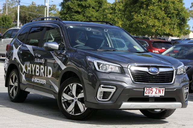 Demo Subaru Forester S5 MY20 Hybrid S CVT AWD, 2020 Subaru Forester S5 MY20 Hybrid S CVT AWD Magnetite Grey 7 Speed Constant Variable Wagon Hybrid