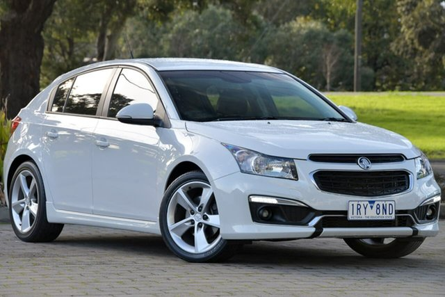 Used Holden Cruze JH Series II MY15 SRi-V, 2015 Holden Cruze JH Series II MY15 SRi-V White 6 Speed Sports Automatic Hatchback