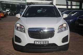2015 Holden Trax TJ MY15 LS Active White 6 Speed Automatic Wagon