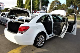 2014 Holden Cruze JH Series II MY14 Z Series White 6 Speed Sports Automatic Sedan
