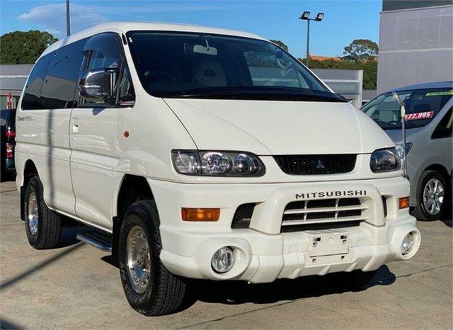 Used Mitsubishi Delica  , 2003 Mitsubishi Delica PD6W Spacegear White Automatic Van Wagon