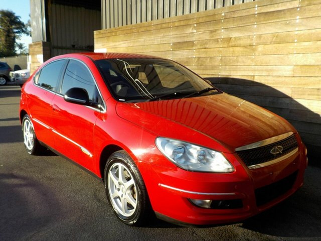 Used Chery J3 M1X , 2013 Chery J3 M1X Red 5 Speed Manual Hatchback