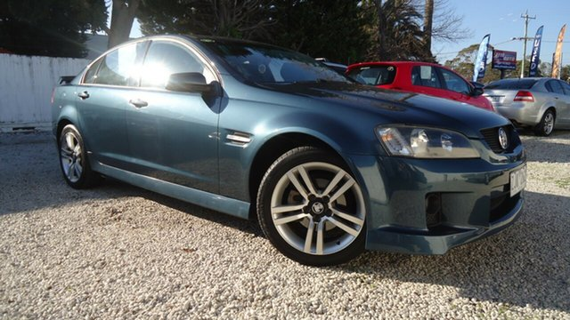 Used Holden Commodore VE MY09 SV6, 2008 Holden Commodore VE MY09 SV6 Blue 5 Speed Sports Automatic Sedan
