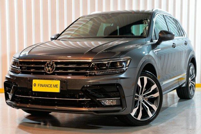 Used Volkswagen Tiguan 5N MY18 140TDI DSG 4MOTION Highline, 2017 Volkswagen Tiguan 5N MY18 140TDI DSG 4MOTION Highline Grey 7 Speed Sports Automatic Dual Clutch