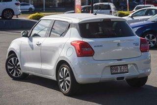 2017 Suzuki Swift AZ GLX Turbo Pure White 6 Speed Sports Automatic Hatchback.