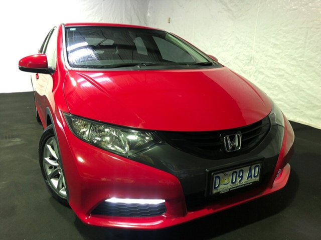 Used Honda Civic 9th Gen MY13 VTi-S, 2013 Honda Civic 9th Gen MY13 VTi-S Red 6 Speed Manual Hatchback